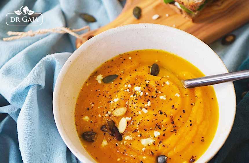 Zupa dyniowa z imbirem i ostrą papryczką